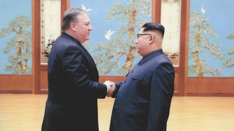 Pompeo returning with 3 US prisoners from North Korea - Trump