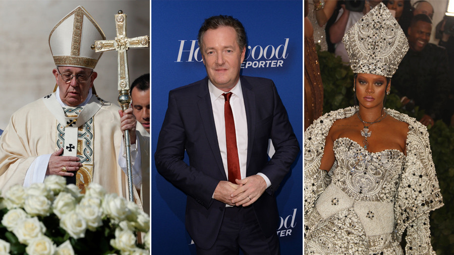 Piers Morgan's hurt feelings about Met Gala's Catholic theme prompts internet-wide laughter