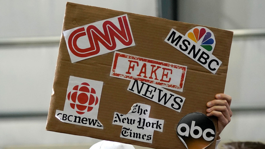 Trump threatens credentials of 'fake news' networks over negative coverage