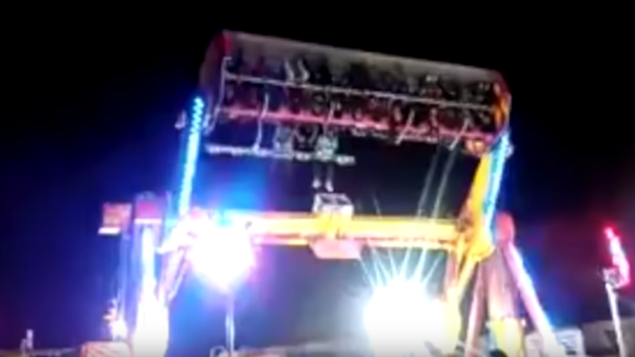 Horrific footage shows woman fall to death from roller coaster (GRAPHIC VIDEO)