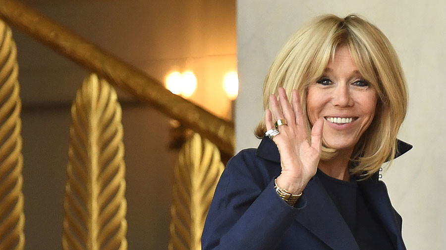 Brigitte Macron v anti-wrinkle cream? First Lady's image reportedly used to promote anti-aging cream