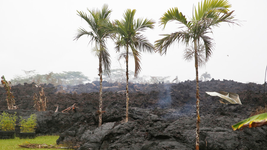 Frantic attempts to avoid enormous blast as lava approaches chemicals stored at Hawaii power plant