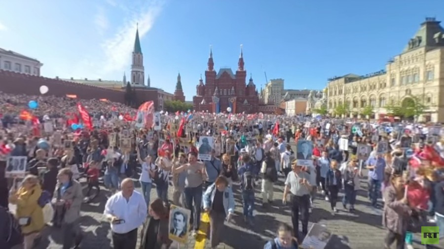 Record 1 million people join Immortal Regiment march in ...