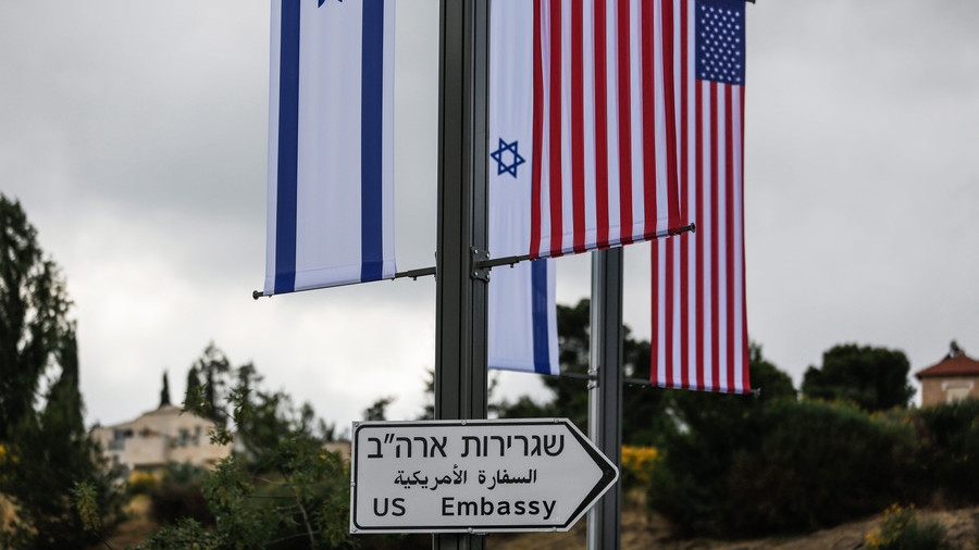 Days ahead of moving embassy to 'capital' Jerusalem, US has 'no position' on Israeli border there