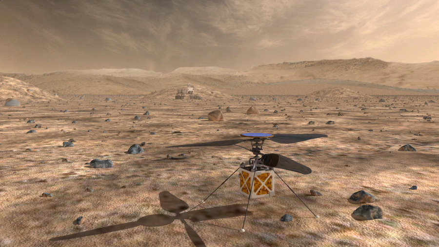 Meet NASA's robot helicopter of Mars (VIDEO)