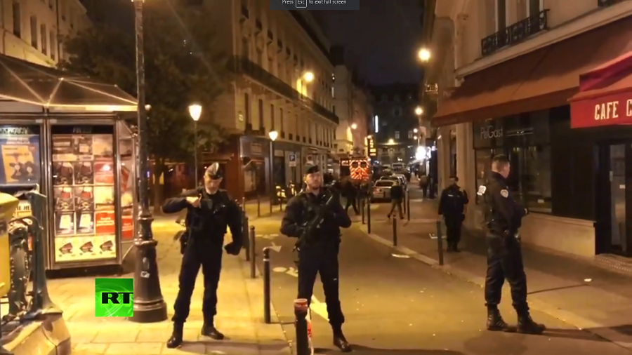 Terrorism investigation following Paris knife attack
