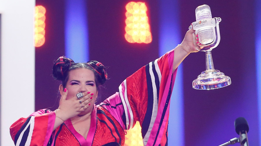 'Next time in Jerusalem': Israeli winner adds political jab to Eurovision Song Contest