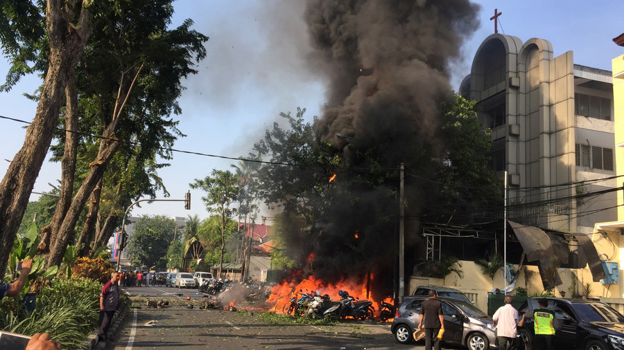 Indonesia church attackers 'used children as suicide bombers'
