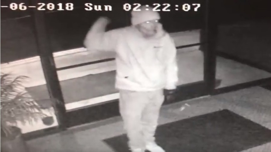Smooth criminal: Burglar caught doing victory dance before getting picked up by police (VIDEO)