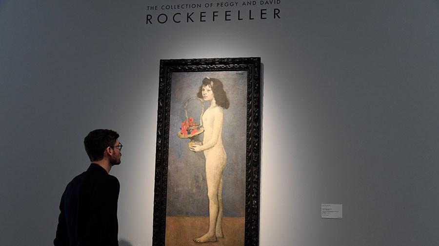 Rockefeller estate auction breaks world record, raises almost $1bn