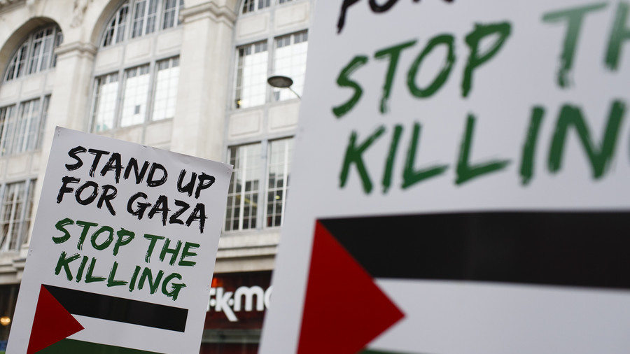 "London Nakba protest: ""All of us here in Britain have a duty to stand up for Palestinians"" (VIDEO)"