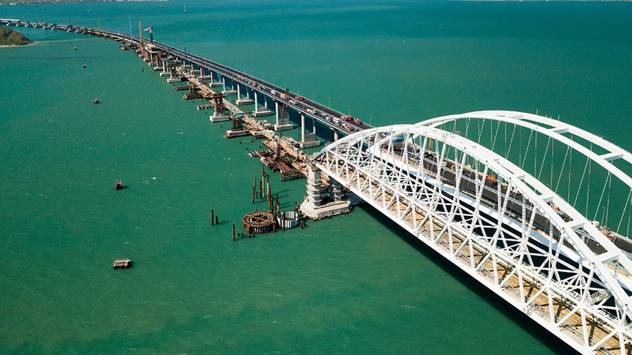 Bridge from mainland Russia to Crimea about to open