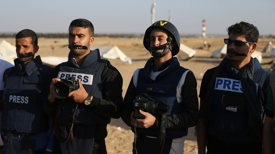 9 journalists injured by Israeli gunfire in Gaza 'massacre', total now over 20
