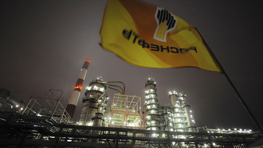 Rosneft sees net profit jump sevenfold on higher oil prices