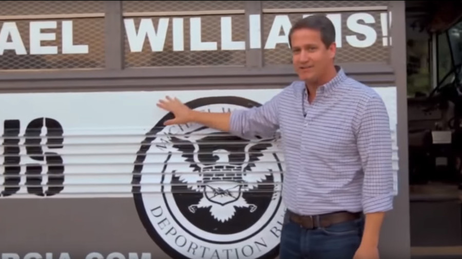 All aboard the deportation bus! Georgia governor candidate launches campaign tour