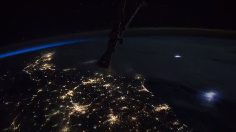 'Raw, silent beauty': Astronaut captures spectacular lightning storm from space (VIDEO)