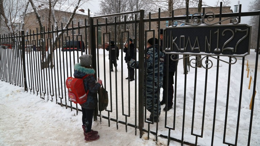 Russian teachers to be offered training on how to respond to armed attacks on schools