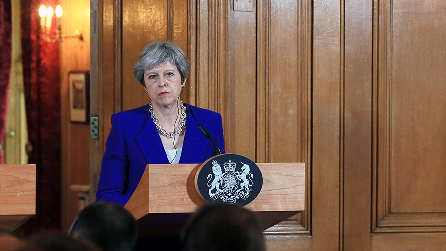 UK-Russian relations won't improve with May in power – Russian upper house chair