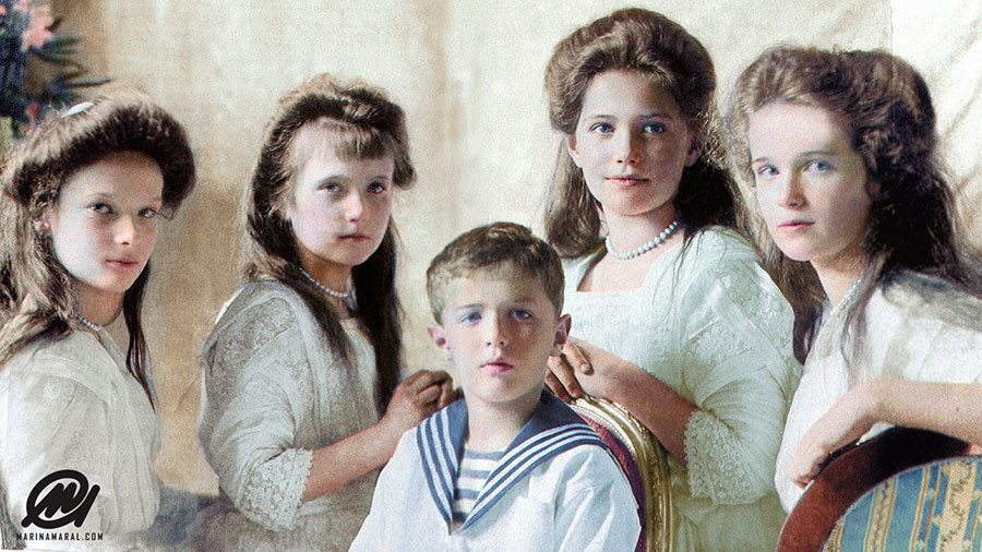 #Romanovs100: Join digital colorization contest judged by renowned artist Marina Amaral