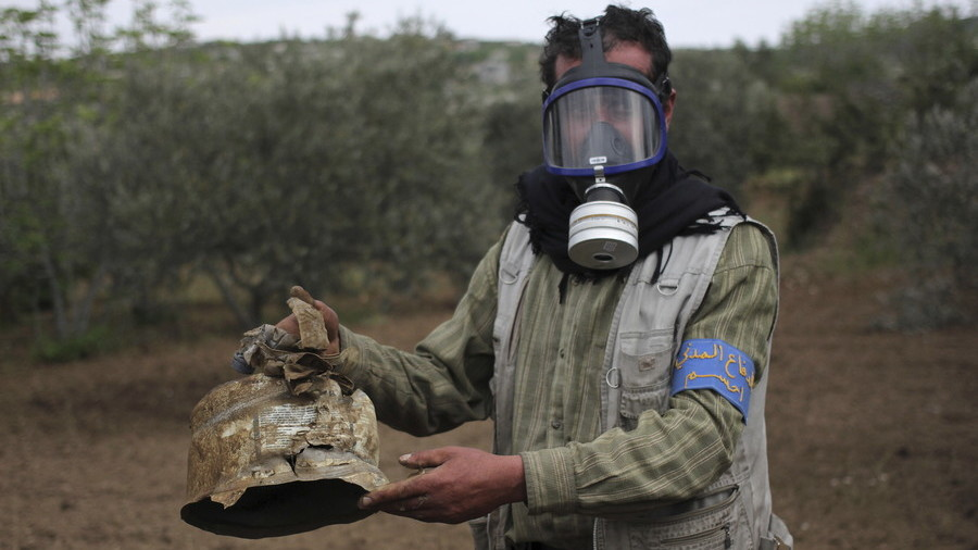 OPCW says chlorine 'likely' used in Syria based on open-source info & samples provided by jihadists