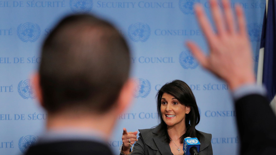 'She's not the world's schoolmarm': Top Palestinian official slams Haley's 'name-taking' at UN votes