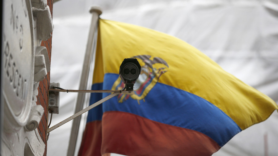 Back to 'normal'? Ecuador withdraws Assange's extra security at London embassy