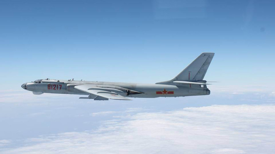 South China Sea drills: Chinese strategic bombers in action (VIDEO)