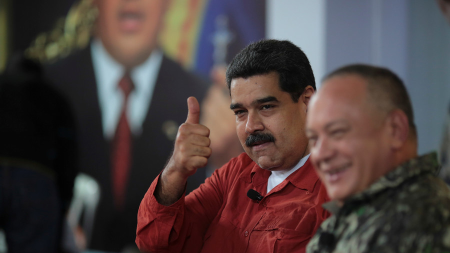 Venezuela's President wins a 2nd term in office in disputed poll