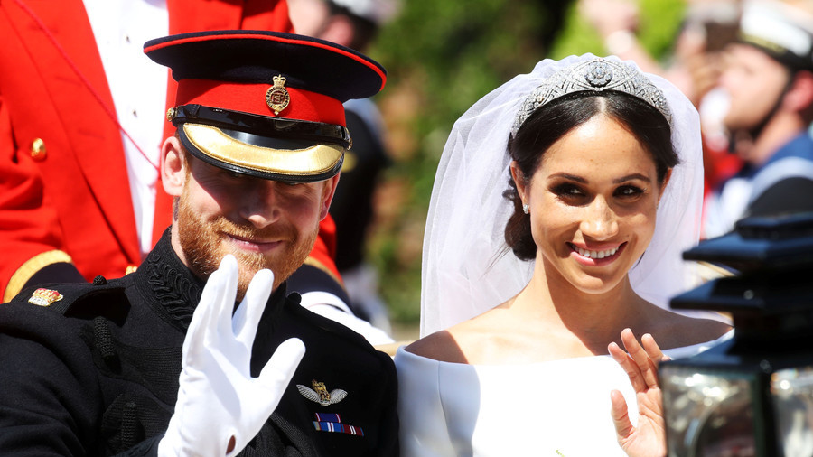 '#BREAKING! Woman wears dress': Royal wedding saturation sparks widespread fatigue