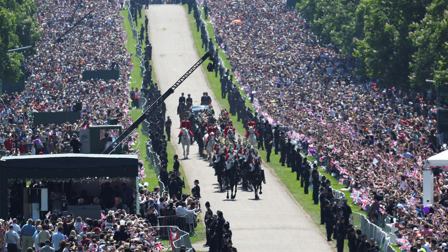 Cheap shot? BBC takes aim at Trump with royal wedding crowd-size tweet