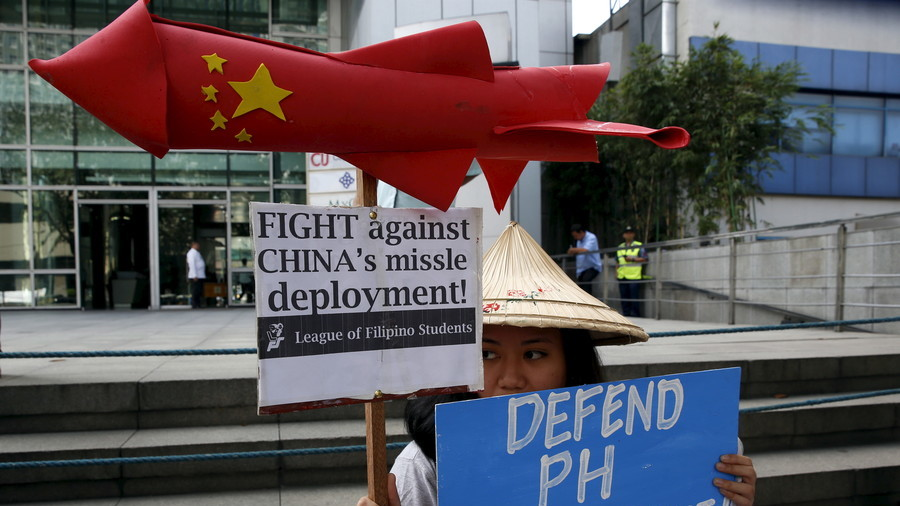 Philippines vows to protect 'every single inch' of its territory after Chinese bomber drills