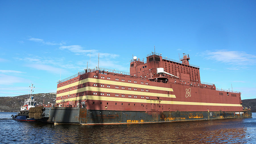 Image result for Russia has developed the world's first floating nuclear power plant.