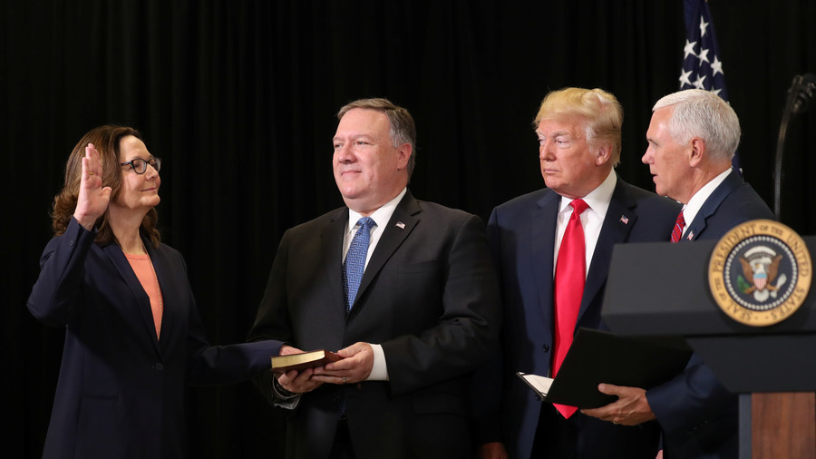 'She breathes the CIA': Ignoring torture reputation, Trump swears in Haspel as 1st female spy chief