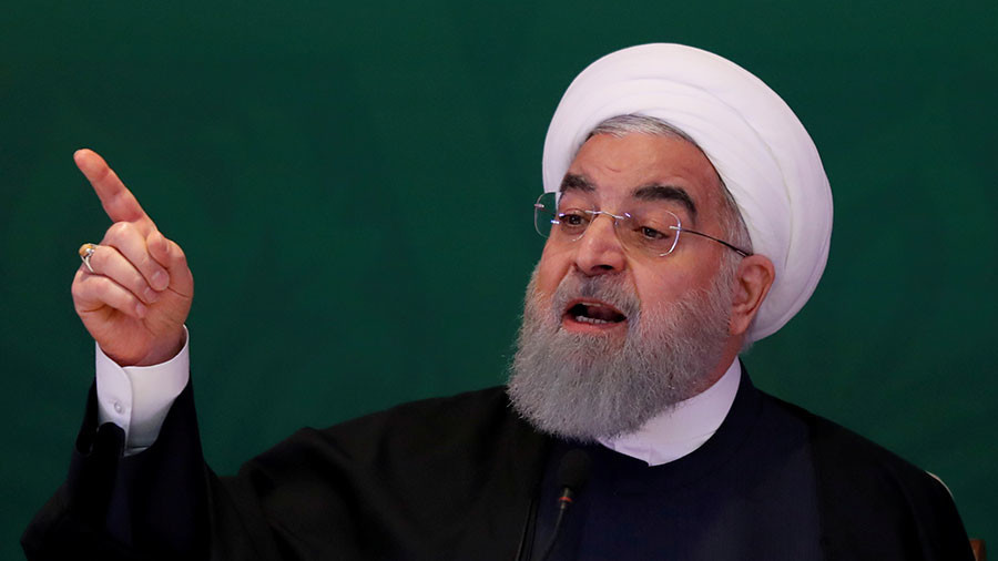 'US can't decide for the world': Rouhani rejects Pompeo's Iran demands