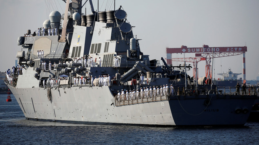 US flexes naval muscle as North Korea summit hangs in the balance