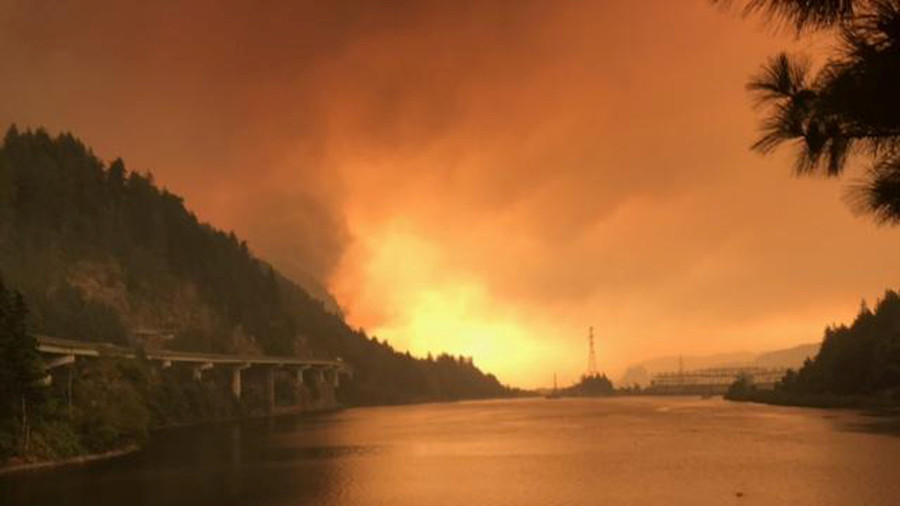 Teen fined over $36 mn for sparking Oregon wildfire
