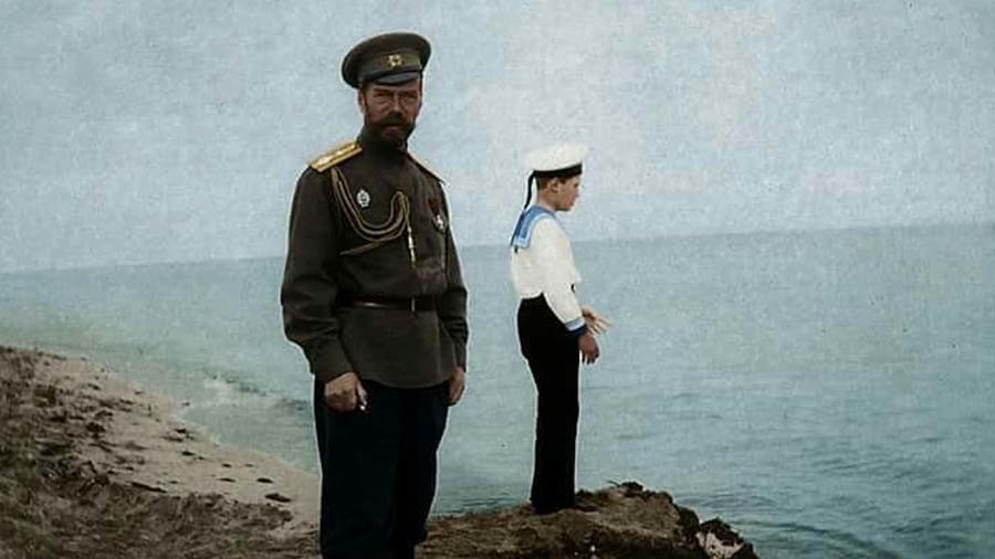#Romanovs100 colorization contest with Marina Amaral well underway (PHOTOS)