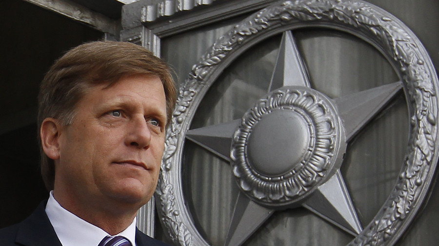 Michael McFaul's memoir: Yesterday's man rages against the dying of the light