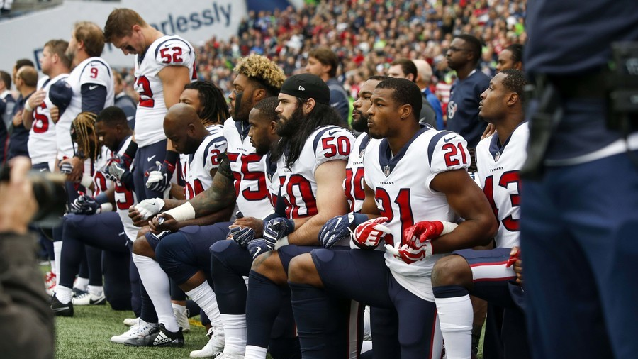 NFL teams to be fined if players kneel during anthem