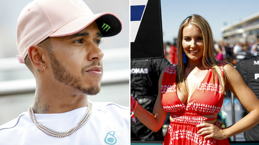 Hamilton hails return of 'beautiful' grid girls