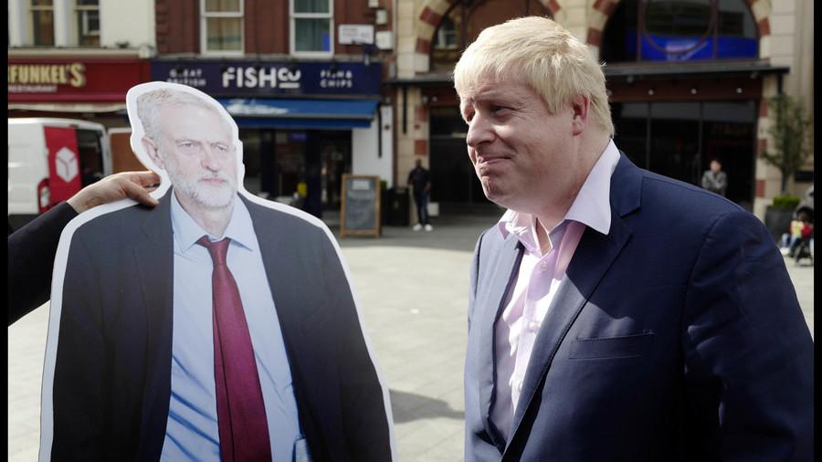 'Corbyn takes money from Kremlin': Russian phone pranksters appear to fool Boris Johnson (AUDIO)