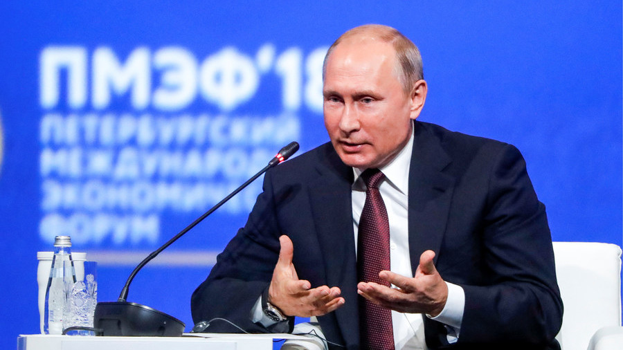 'We'll protect Europe' & other quotes from Putin's SPIEF forum