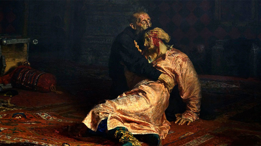 'Ivan the Terrible' Painting Damaged in Russian Federation  in Vodka-Fueled Attack