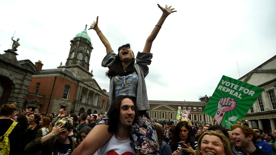 Irish pro-choice voters rejoice as opposition to abortion vow to fight on (PHOTOS, VIDEO)