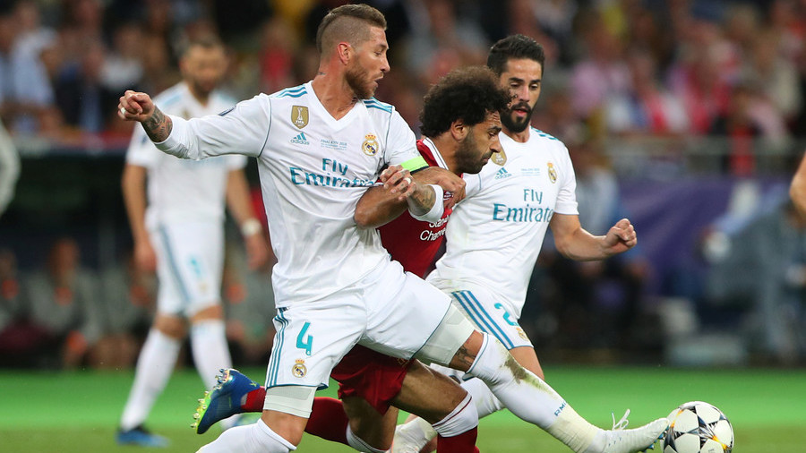 Legal tangling: Egyptian lawyer files €1 billion lawsuit against Sergio Ramos for Salah injury