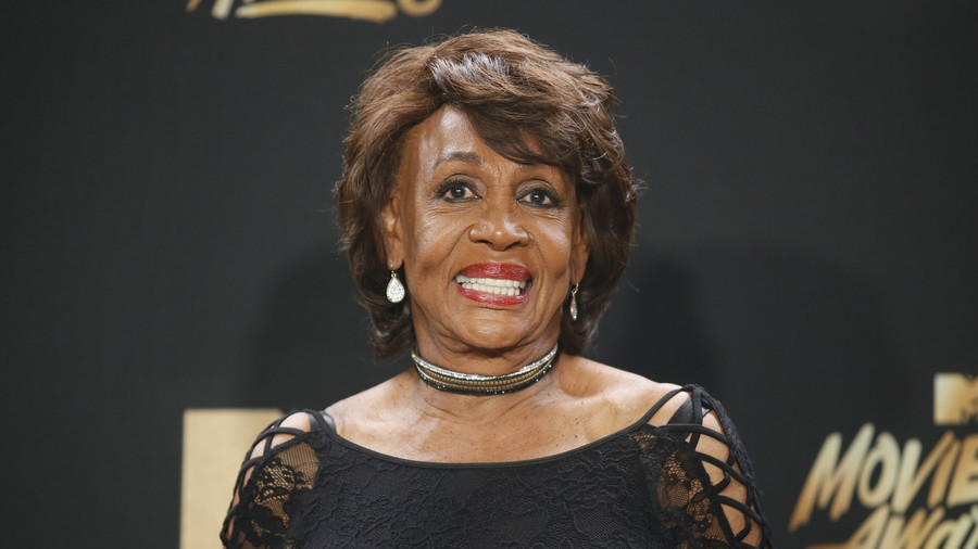 Trump's use of the term 'witch hunt' is a 'Russian tactic' claims Congresswoman Maxine Waters