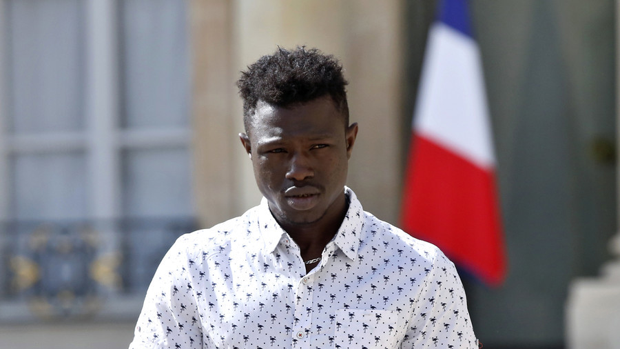 'I wasn't thinking about being brave': Malian 'Spiderman' talks about rescuing 4yo in Paris