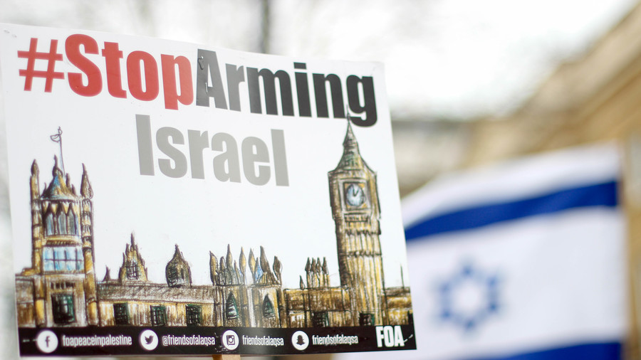 UK condemns Gaza killings while British arms sales to Israel hit record levels (VIDEO)
