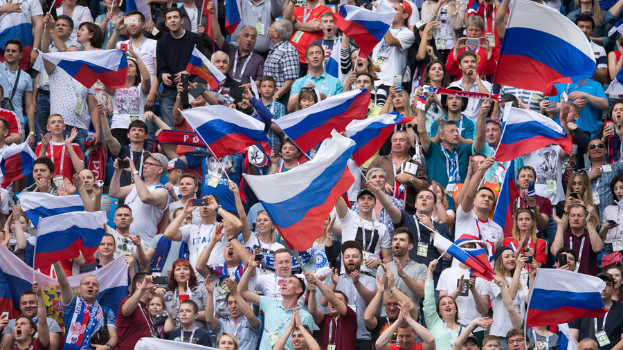 Moscow World Cup fan zone gears up to welcome thousands of supporters (VIDEO)