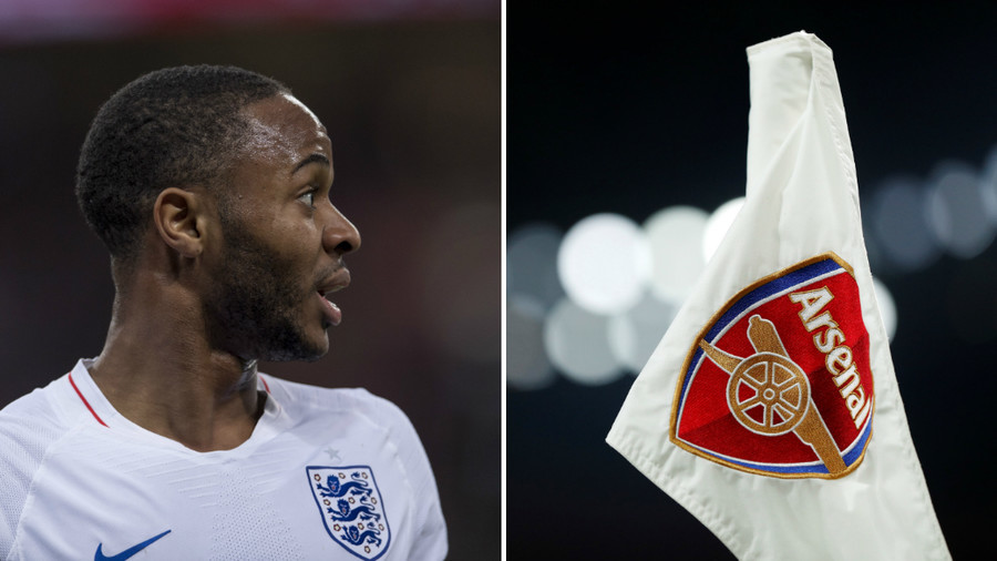 Ban The Arsenal Badge Sterling Gun Tattoo Row Leads To Lampooning Of Gunners Logo Rt Sport News